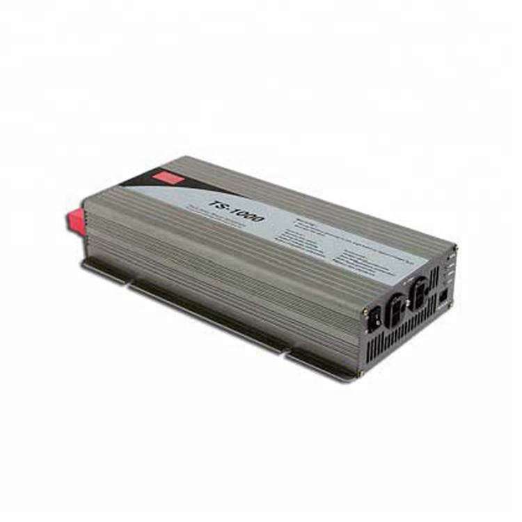 Mean Well True Sine Wave DC-AC Power Inverter TS-1000 Series TS-1000-212B 1000W 100A 12V To 220V Inverter