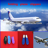 china factory supply High quality fashion special slippers for airplane