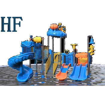 the hot-selling water park equipment price pool water slide water park slides for sale HF-D003
