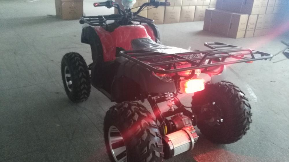 Worth buying fashion design double motor drive atv for sale price