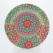 Floral Prints Bamboo Fiber Food Dishes