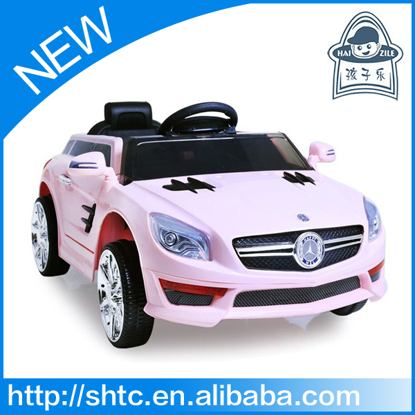 Newest fashionable toy car to sit in with 2.4G remote control