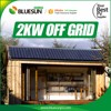 Residential 110v 220v 2kw mini solar power system supply