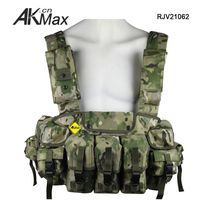 Camo military bulletproof tactical vest for military