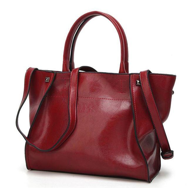 hot sale new style popular fashion goat leather handbag