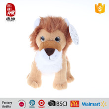 big eyes golden yellow wholesale stuffed lion toys