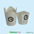 takeaway food container paper printed noodle box