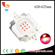 Epileds 6-7V 10 watt 620nm 630nm 10w red led chip