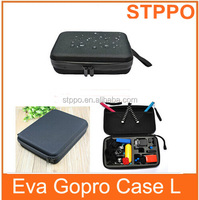 Large Black Protective Case Bag For GoPro Hero 3 2 1 and GoPro Accessories Parts