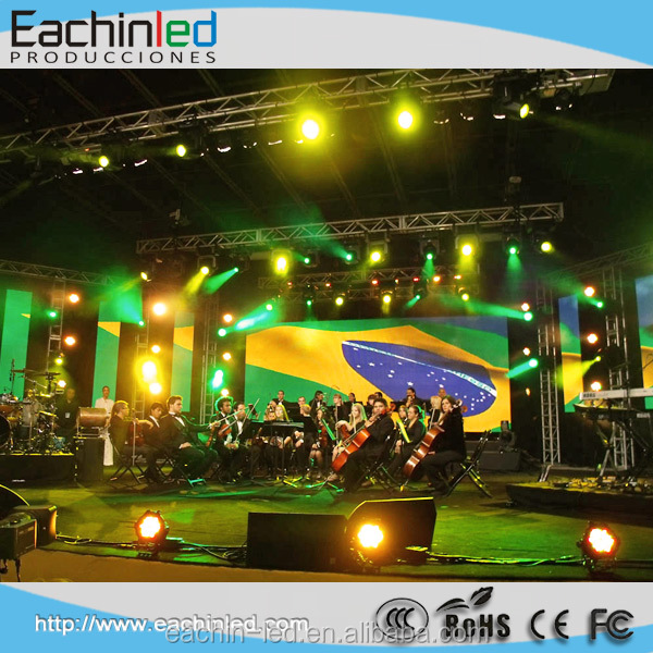 indoor p3.9 ultra slim led screen full color rental led display screen led stage screen
