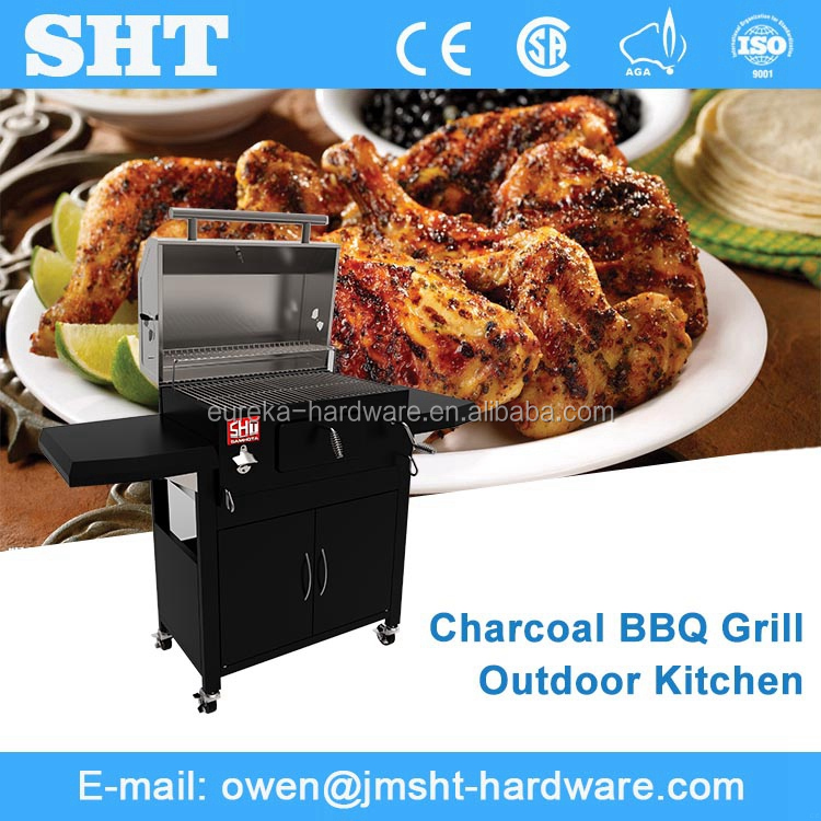 High quality wholesale outdoor charcoal bbq grill factory pictures