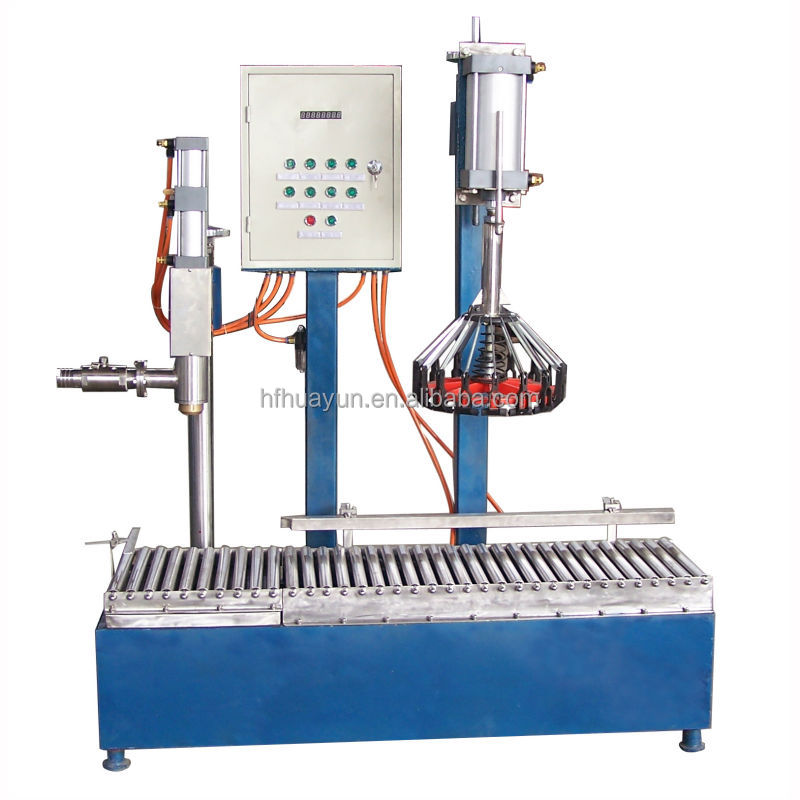 paint packing and capping machine, semi-automatic liquid filling equipment