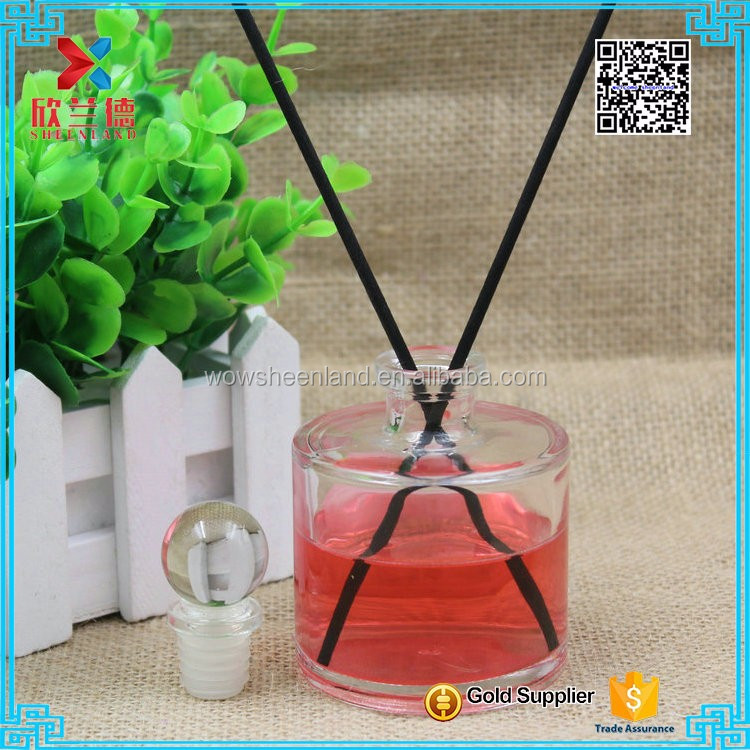 Factory Direct Wholesale 100ml Empty New Arrival Scent Aroma Reed Fragrance Room Air Diffuser Glass <strong>Bottle</strong>