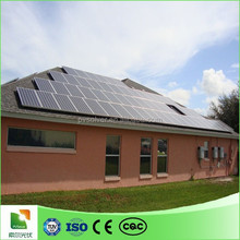 solar power system for commercial/galvanized u steel/solar rooftop mount