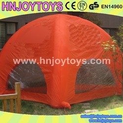 pink inflatable tent camping,inflatable camping tent for kids