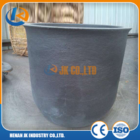 Silicon Carbide Graphite Crucibles Ceramic Crucible for Melting Aluminum