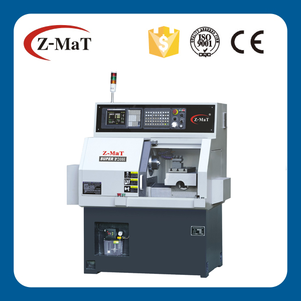 Mini CNC Swiss type gang type tools turning lathe High precision high speed lathe SUPER P20