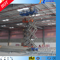 CE IPAF 320kg Self Propelled Scissor Type Vertical Lift Mechanism