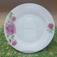 All size of porcelain dessert plates set/ porcelain wedding plates wholesale with cheap price