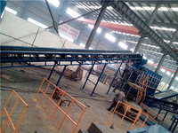 Fully automatic less labour refuse sorting classification line waste recycling sorting equipment
