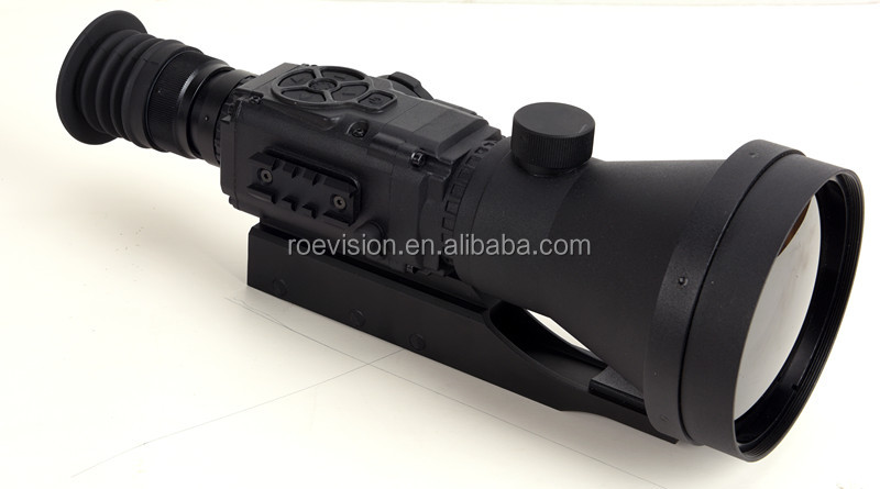 thermal image weapon sight/ thermal night vision rifle scope for hunting