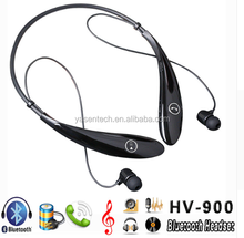 2016 New Arrival HV900 Sports Stereowireless bluetooth headphone Headset Earbuds Earphones Neckband HV 900