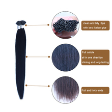 Alli Express Cheap Raw Top Quality Indian I Tip Hair Extensions