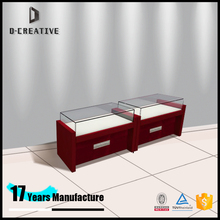 high premium boutique jewelry display furniture jewelry shop showroom decoration wood glass jewelry display set showcase