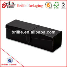 High Quality Leather Wine Bottle Box