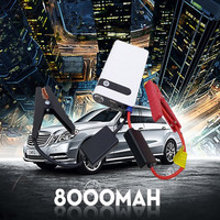 Multi-Function Mini 8000mAh 12V cars Jump Start Vehicle & battery booster 12V