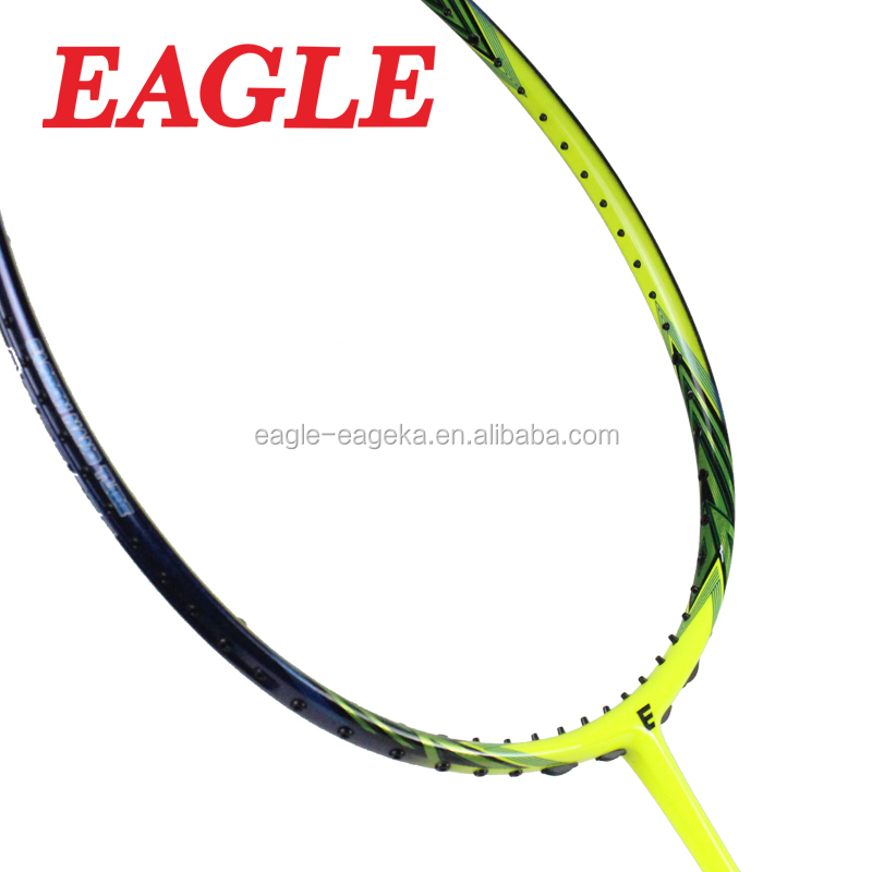 2017 EAGLE brand carbon badminton racket for professional club player E366