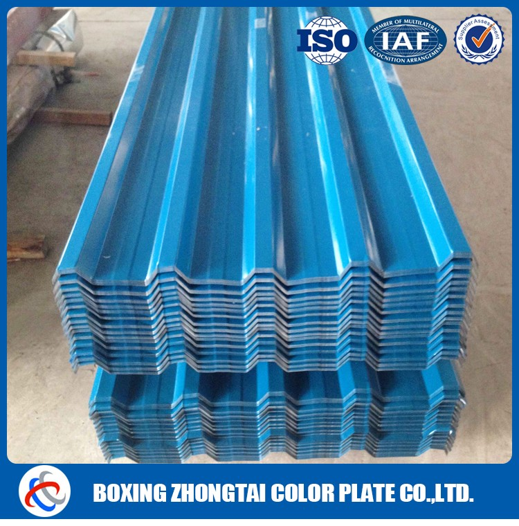Steel roof tile sheet