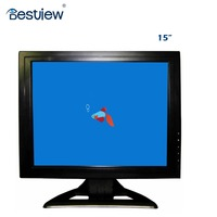 4 wire resistive 15 inch USB touch screen lcd monitor with hdmi input