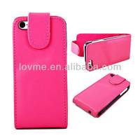 Elegent Magnetic Leather Holster Hard Back Cover Flip Case For Apple iPhone 5C