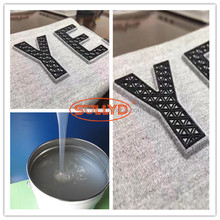 Embossing Screen Printing Textile Ink for the garment printing Heat press