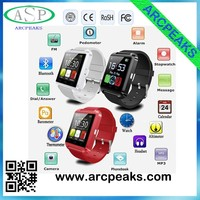 U8 smart watch, Bluetooth 4.0 Fitness Smart Watch Phone for Smartphone Android