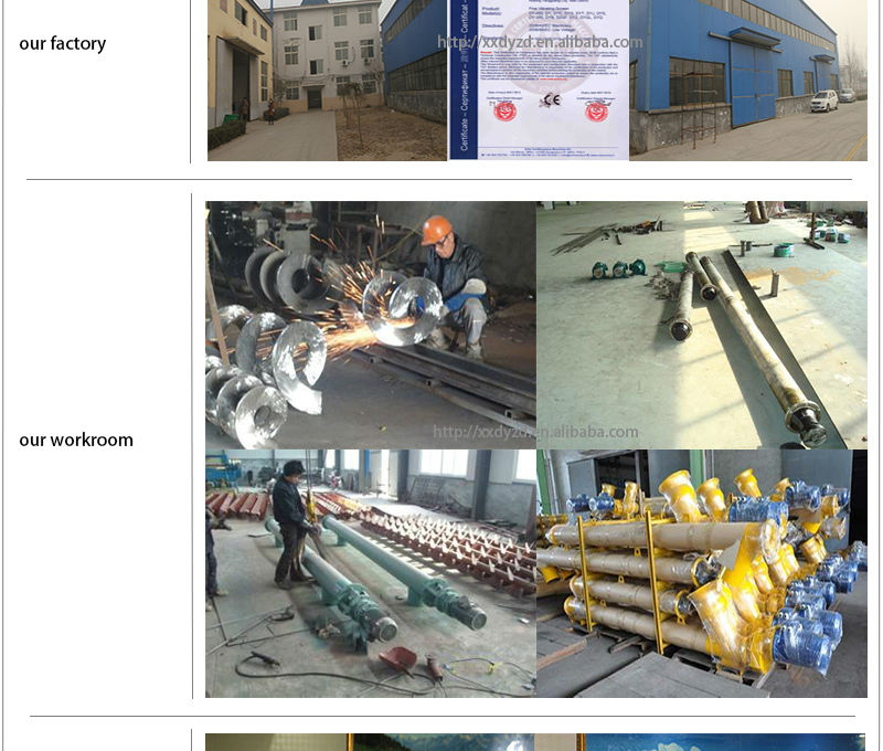 small automatic grain cement sand powder flexible screw conveyor