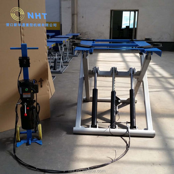mobile minni hydraulic Scissor car lift