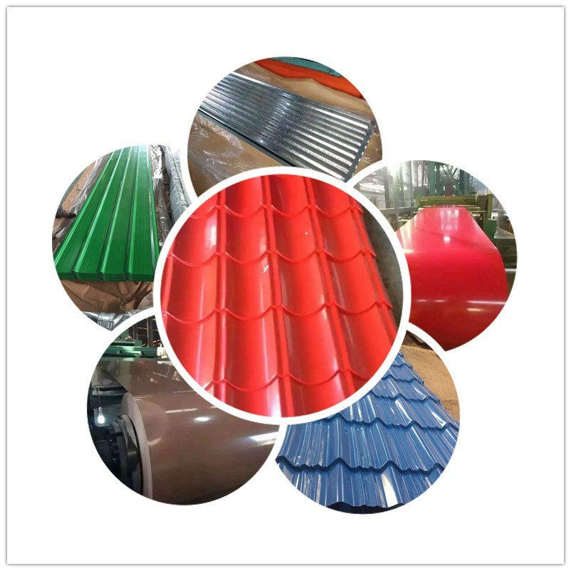 Color steel roofing painted steel sheets / painted galvanised steel export to Cambodia