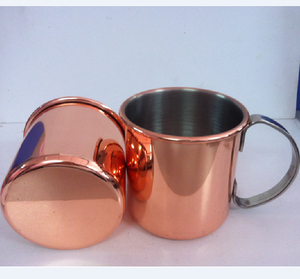 Stainless Steel Drinking Cup Moscow Mule Copper beer mug