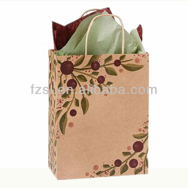 FGK025 Kraft Paper Wine Bag