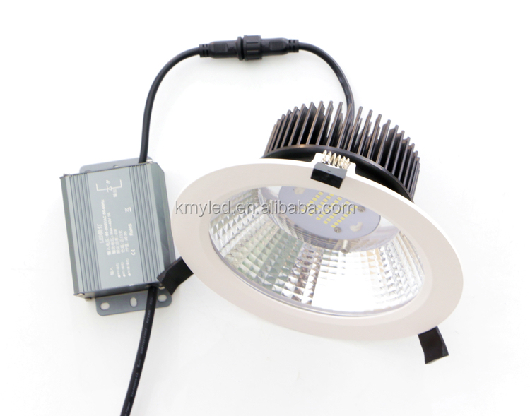 Shopping mall lighting led cob downlight 50W led ceiling light downlight