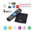 Latest android 7.1 tv box KM8P s912 octa core 2g ram 8g rom download user manual for android tv box KM8P box player