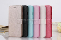 High Quality Fashion Silk pattern case cover Left Right Flip Open Stand Leather Case for Iphone 6 6 plus Samsung S6 S6 Edge