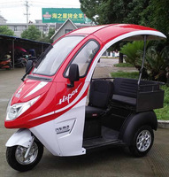 800w 60v semi closed three wheel passenger vehicle electric passenger motorcycle electric tricycle