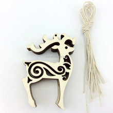 MDF laser cut reindeer wood craft