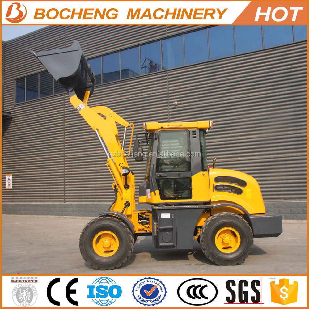 2016 Hot sale construction machine mini pay loader used earth moving equipments