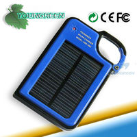 Mini USB Port External Battery Solar Charger for Mobile