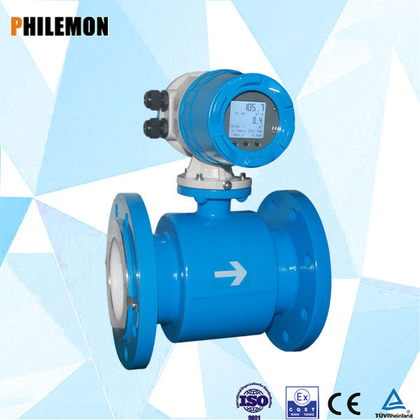 low cost water electromagnetic flow meter sensor