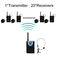 High quality digital wireless portable transmitter and receiver